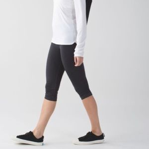 Lululemon In the Flow Crop II Legging Capri